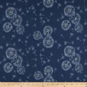 Sketchbook Tiny Dancer - Midnight - Jersey - Per Quarter Metre